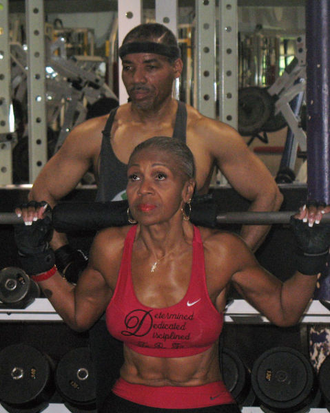 Female Bodybuilder Is Young In Spirit
