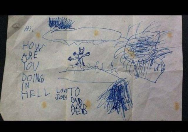 Hilarious Kid Drawings