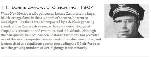 The Most Famous UFO Incidents