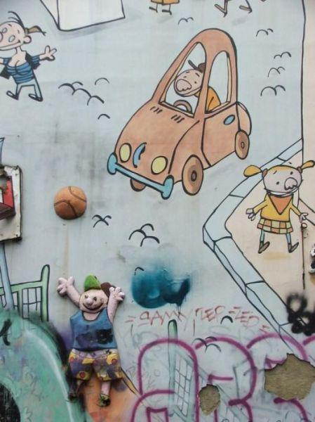 Unique Belgian Street Art