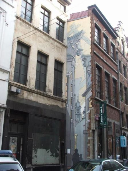 Unique Belgian Street Art