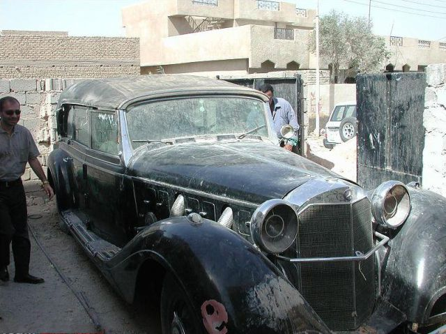 Wrecked Luxury Cars of Hussein's Son