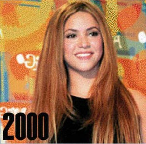 Shakira from Early Childhood Till Now