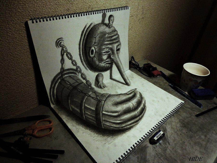 простые рисунки карандашом прикольные: