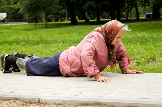 Grandma's Street Workouts