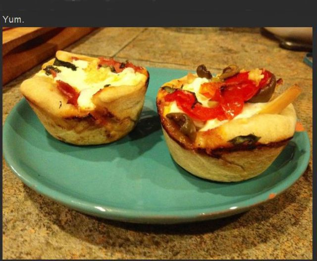 Making Pizza Cupcakes Is So Easy