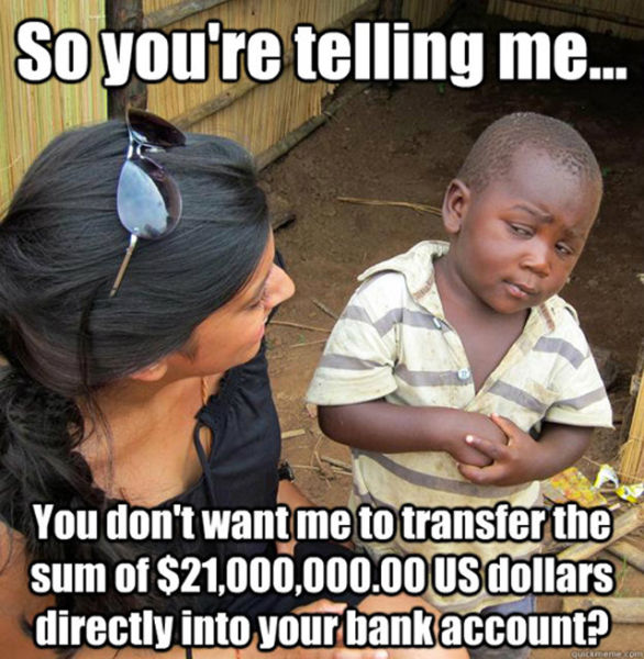 The Best of the Skeptical Third World Kid Meme