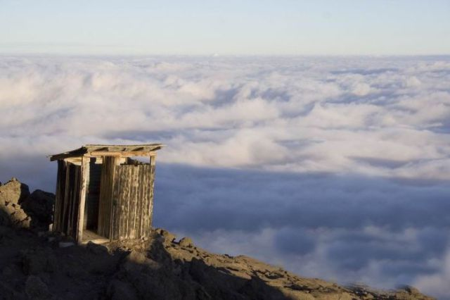 Toilets at the Edge of the World