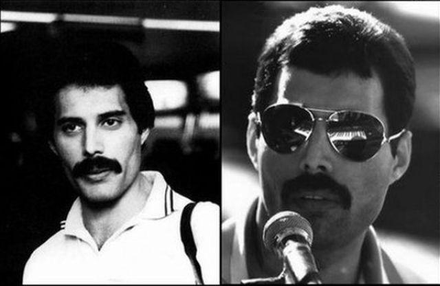 Aging Timeline of Freddie Mercury