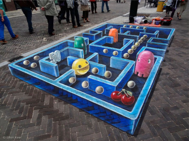 Cool Three-Dimensional Street Paintings