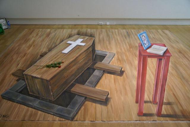 Cool Three-Dimensional Street Paintings