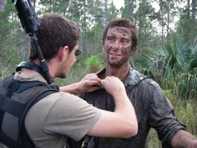 Behind the Scenes of Bear Grylls' Show