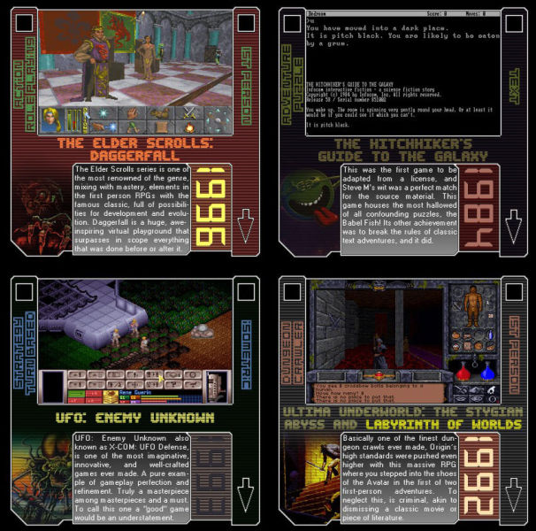 Classic MS-DOS Video Games
