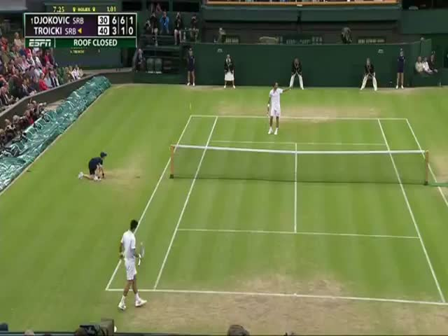 Fan Gives Troicki an Advice on How to Beat Djokovic