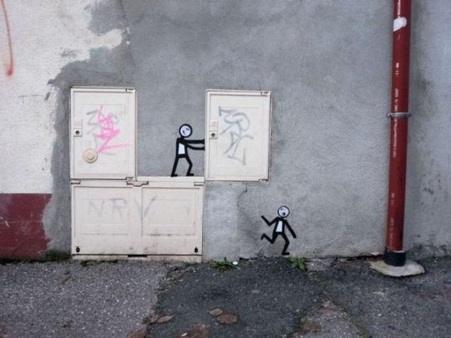 Wacky Street Art