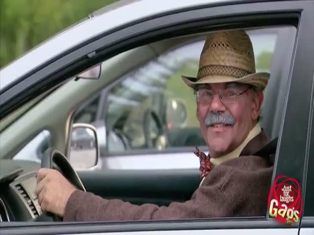 Funny Badass Grandpa Drifter Prank