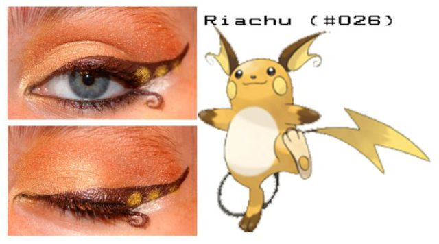 Eye Makeup for Pokemon Enthusiasts