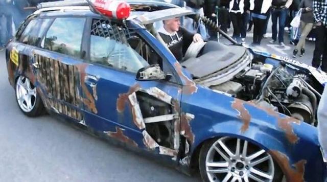 Bizarre Audi A4 Frankenwagon