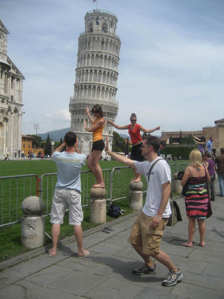 Don't Lean on the Tower of Pisa, Get Creative
