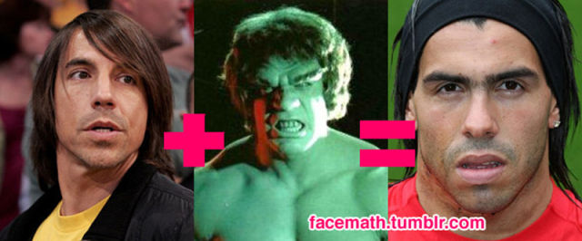 Famous Faces Come Together With Facemath