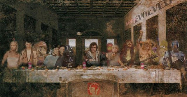 The Last Supper Ridiculously Parodied