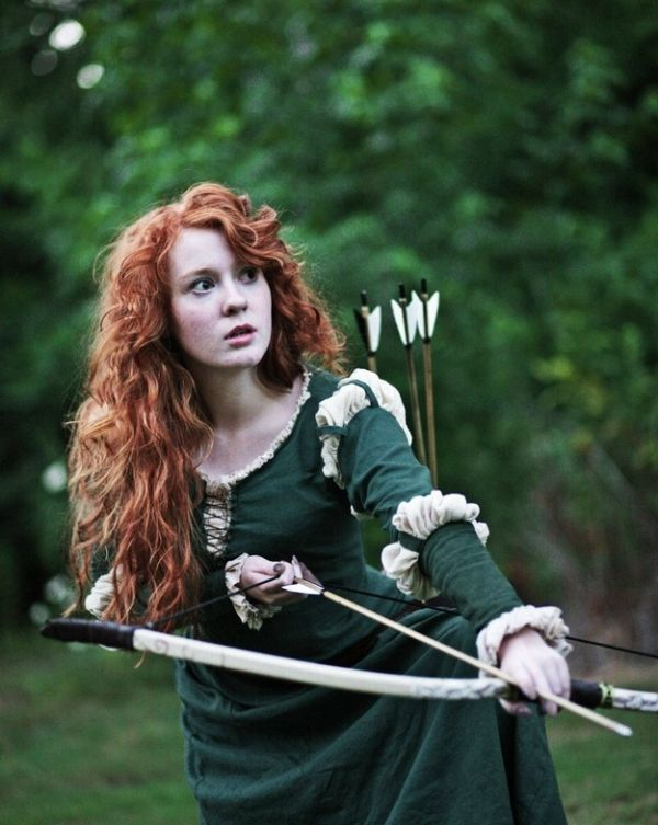 "Lovely ""Brave"" Cosplayer"