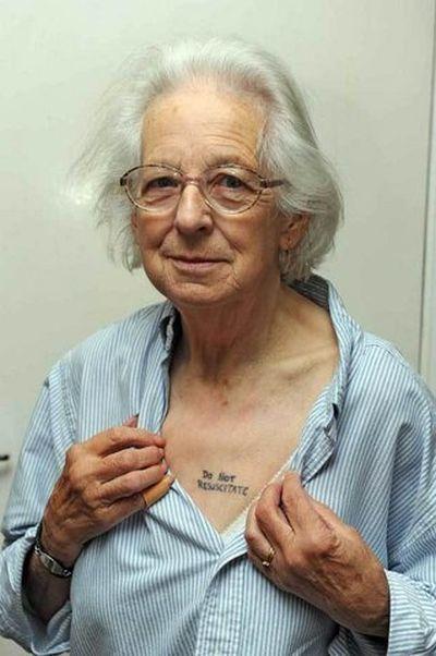Tattoos Telling a Disease