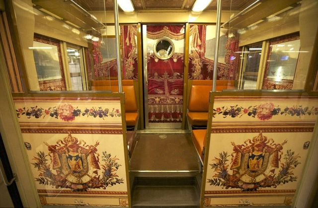 Versailles Train Is What You Call Glamour