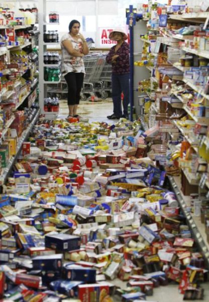 Chaos in Grocery Stores
