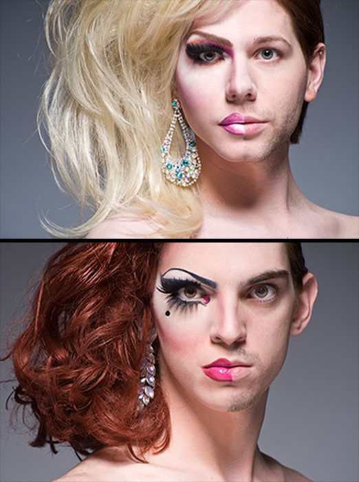 Half Drag Photo Project