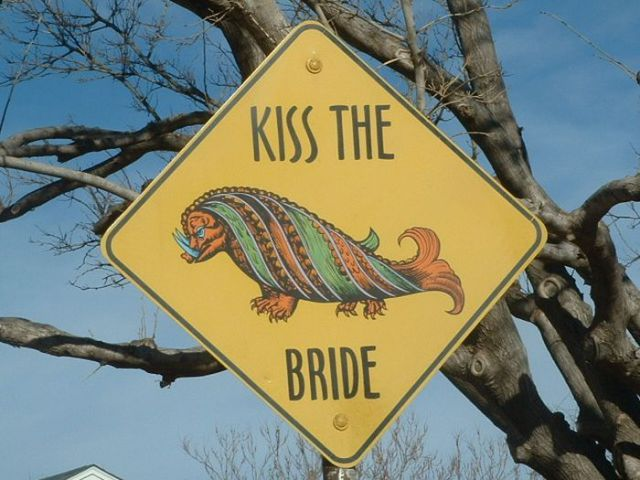 Unconventional Art Signs