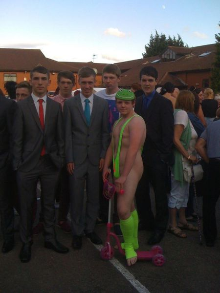 The Craziest Boy Prom Outfit Ever