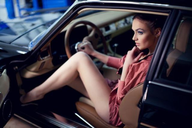 Vintage Cars for Hotties