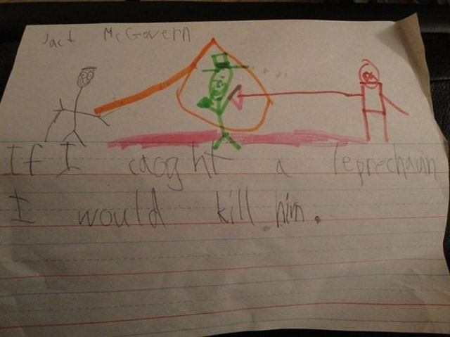 Creepy Pictures Drawn by Children