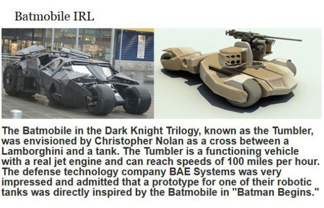 "Curious Factoids about ""Batman Begins"""