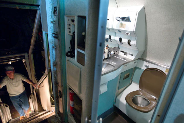 From the Air to the Ground: An Airplane House