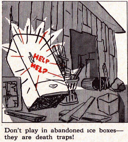 Vintage Children Safety Booklet That Will Scare You Easily