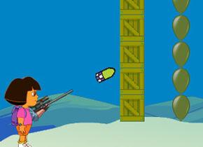 Dora Shoot Balloons