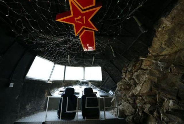 Chinese Cave Bunker Turned Into a Bar