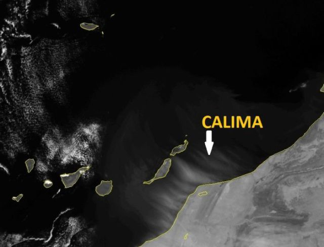 Dust Wind of Calima
