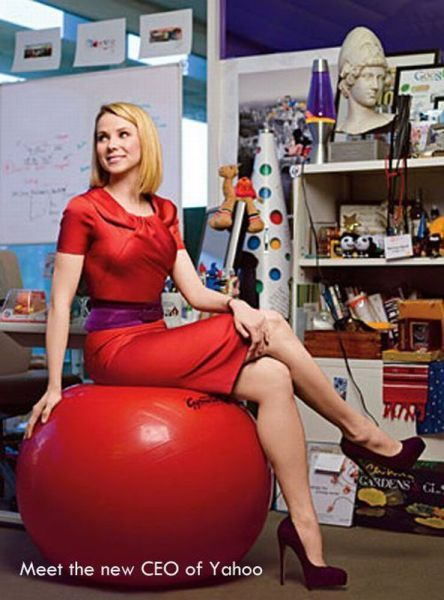 Yahoo Has the World's Prettiest CEO