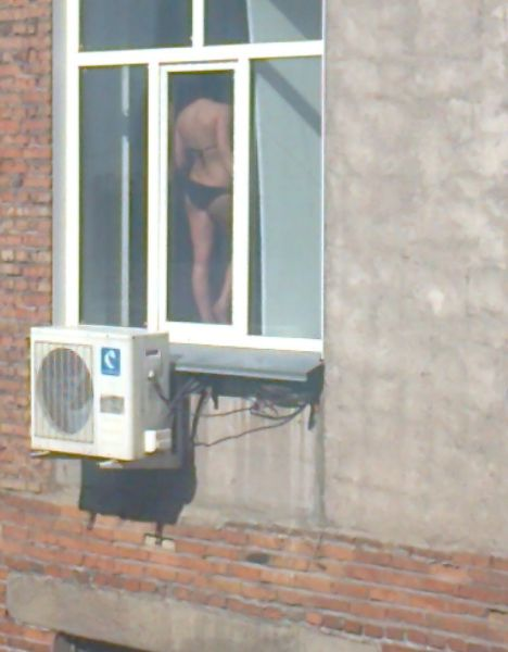 A Hot Day In Russia