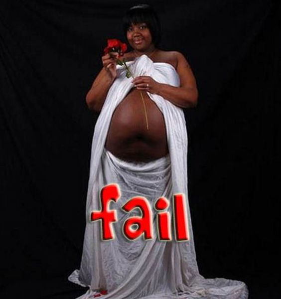 Creepy Pregnancy Photos