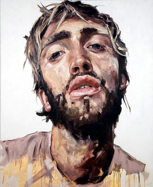 Portrait Paintings by Nick Lepard
