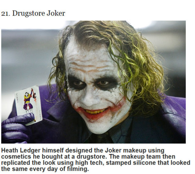 """The Dark Knight"" Facts You Probably Didn't Know"