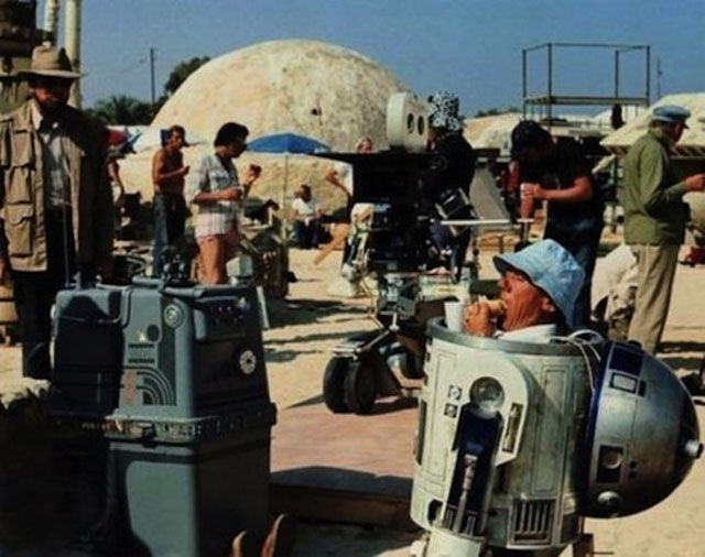 Rare Behind the Scenes Movie Images
