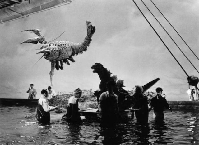 Behind The Scenes Of The First Godzilla Movie 11 Pics