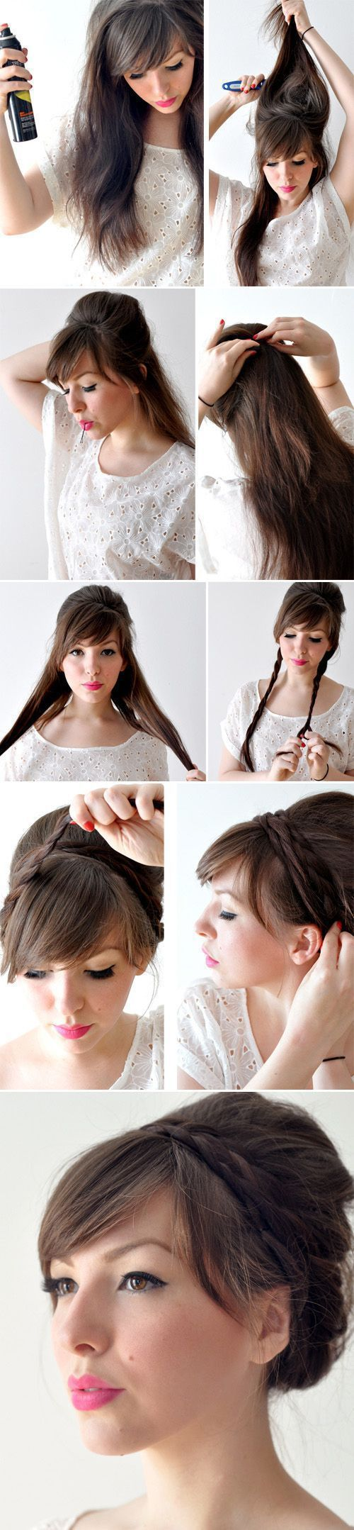 Hairstyles For Short Hair To Do At Home : Creative Hairstyles That You Can Easily Do at Home (27 pics ...