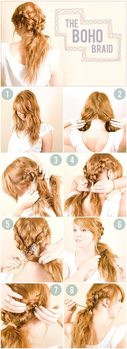 Creative Hairstyles That You Can Easily Do At Home 27 Pics