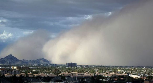 Mighty Dust Storm in Arizona